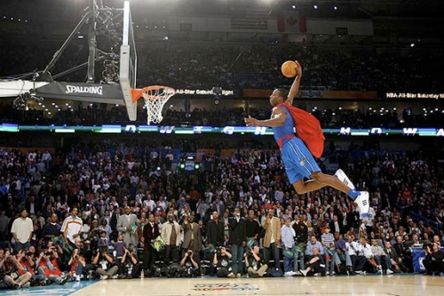 Howard failed to match last year's performance in the Dunk Contest