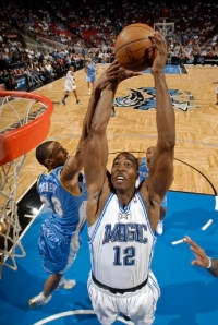 Howard secured his first major NBA record Monday. (Getty Images)