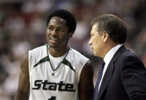 Lucas helped Izzo win his first Big Ten title since 2001