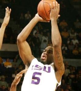 Thornton & LSU tore through the SEC but recived a # 8 seed in the Big Dance.