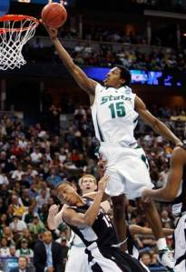 Summers & the Spartans soared over UConn Saturday.