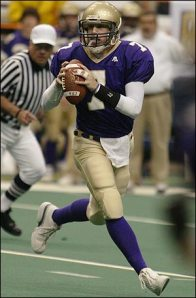Whether you believe it or not, Paulus was a star QB in high school.