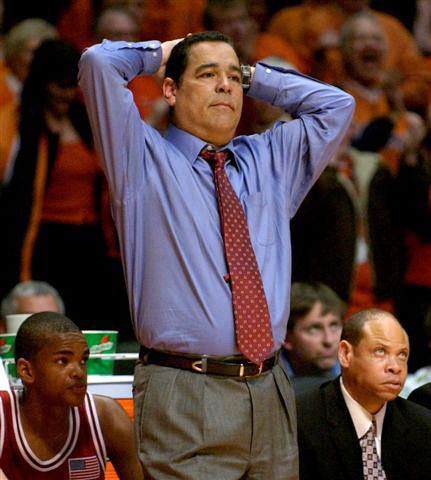 The NCAA won't allow Sampson to coach again until 2013.