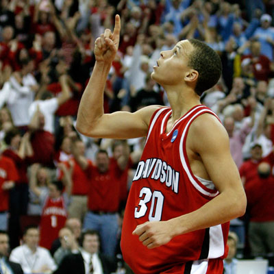Curry was dynamic at Davidson, but how will he fare in the NBA?